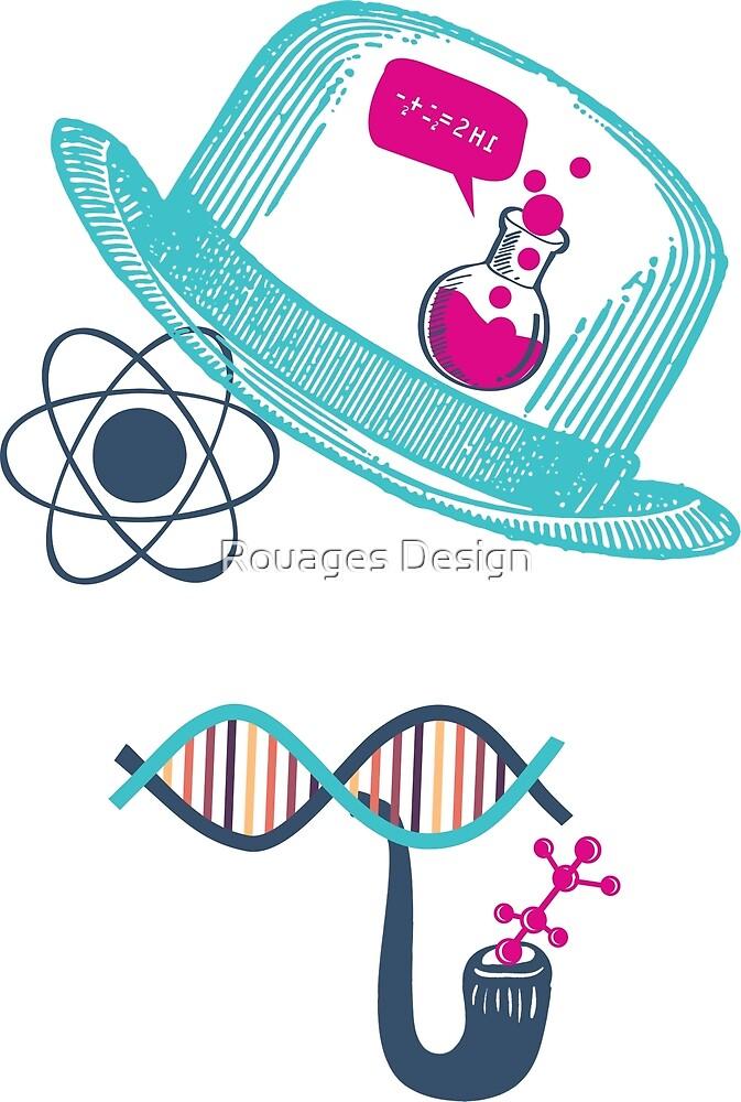 Science Moustache by Rouages Design