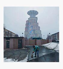 Den Ryska Nallen Photographic Print