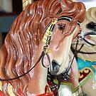 Carousel Horse - Mahogany by Sophia Covington