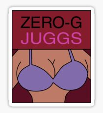 Zero-G Juggs Magazine Sticker