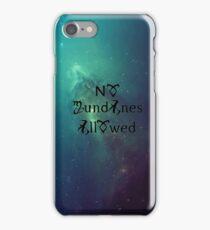 No Mundanes Allowed iPhone Case/Skin