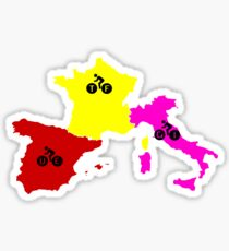 Giro - Tour - Vuelta Sticker