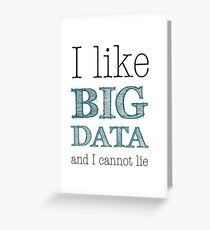 Big Data Greeting Card