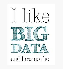 Big Data Photographic Print