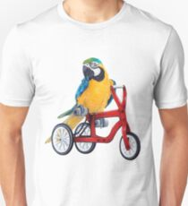 Parrot Macaw bike red T-Shirt