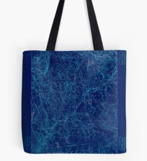 USGS TOPO Map Connecticut CT Gilead 331028 1892 62500 Inverted Tote Bag