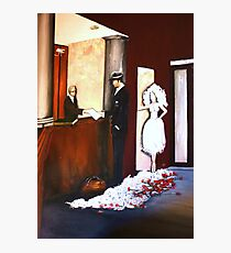 The Hotelier, The Assassin, The Bride Photographic Print