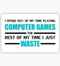 Computer Gaming Sticker