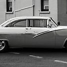 Ford Victoria in Black and White by Sophia Covington