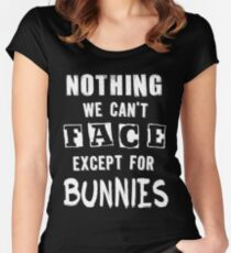...except for Bunnies Women's Fitted Scoop T-Shirt