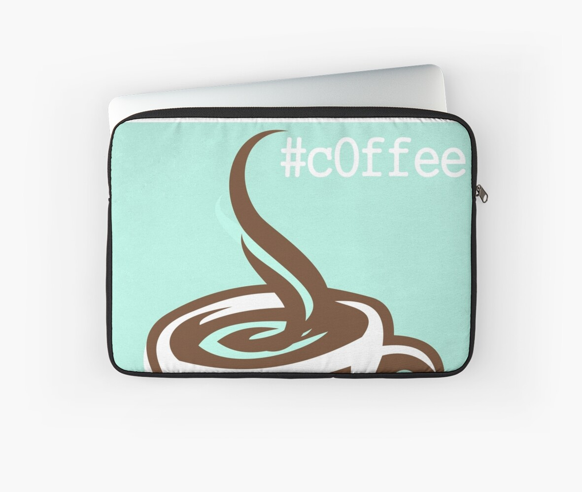 Coffee CSS Hex Word Print for cafe or home, Vector Illustration by omniprints
