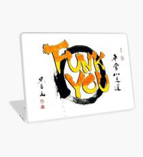 Funk You Shodo Style Laptop Skin