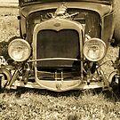 Old Ford - Sepia by Sophia Covington