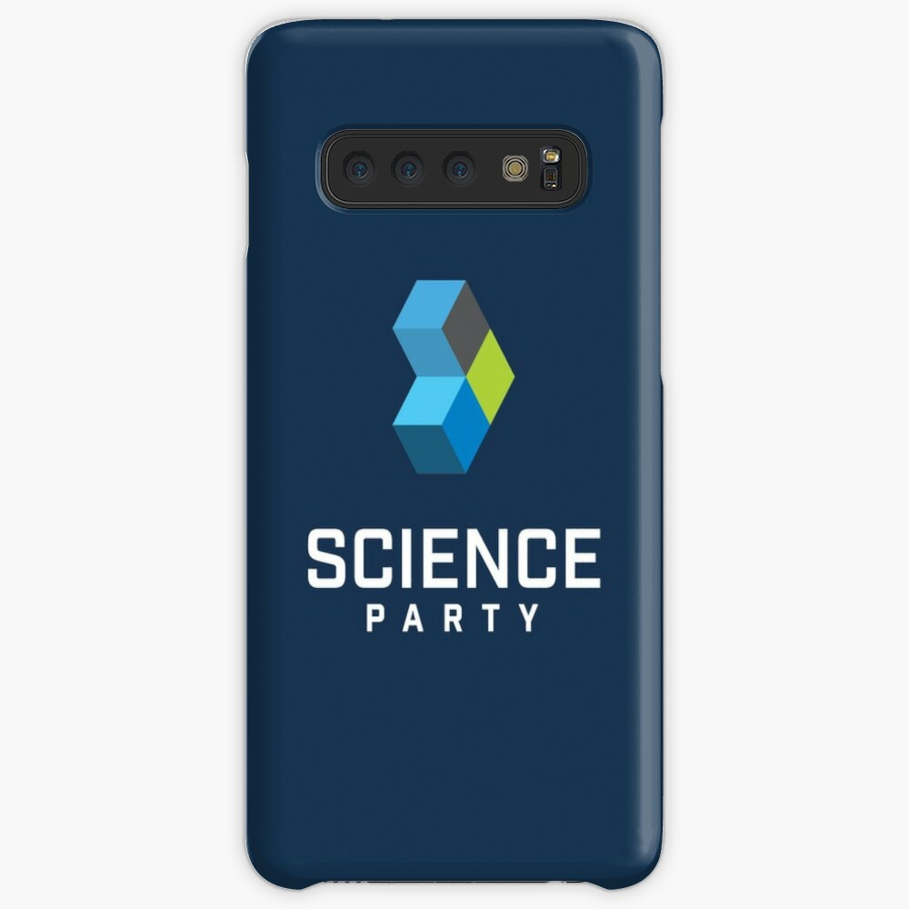 Science Party Australia (Dark) Cases & Skins for Samsung Galaxy