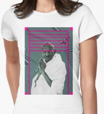 Gandhi Womens Fitted T-Shirt