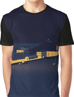 Tenby Harbour Graphic T-Shirt