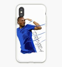 The King of Chelsea - Didier Drogba - Legend iPhone Case