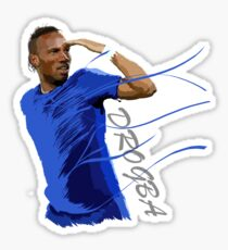The King of Chelsea - Didier Drogba - Legend Sticker