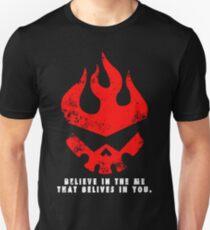 Gurren lagann - Glaube an das Ich, das an dich glaubt. Unisex T-Shirt
