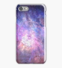 Sacred Geometry Universe IX iPhone Case/Skin
