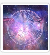 Sacred Geometry Universe IX Sticker