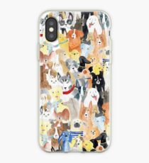 Dogs dogs dogs iPhone Case