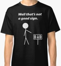 Funny Humor Retro Geek Nerd Classic T-Shirt