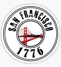 San Francisco 1776 Sticker