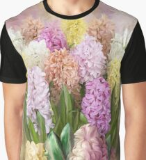 Hyacinths In Hyacinth Vase 2 Graphic T-Shirt