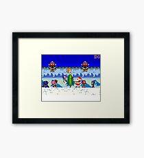 Winter Sonic Framed Print