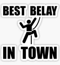 Best Belay Sticker