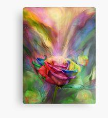 Healing Rose Metal Print