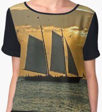 Sailing Women's Chiffon Top