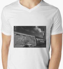 Life imitates art far more than art imitates Life. Mens V-Neck T-Shirt