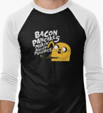 Makin' Bacon Pancakes Men's Baseball ¾ T-Shirt