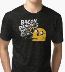 Makin' Bacon Pancakes Tri-blend T-Shirt
