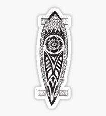 Dream Longboard T Shirt Sticker