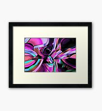 Twisted Ribbon Framed Print
