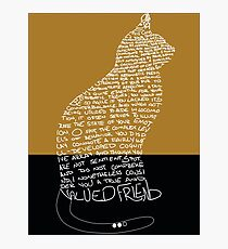 Ode To Cats Photographic Print