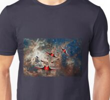 Ships from the Tarantula Nebula, How Long Will It Take Them To Reach Earth Unisex T-Shirt