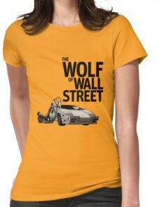 THE WOLF OF WALL STREET-LAMBORGHINI COUNTACH Womens Fitted T-Shirt