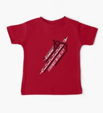 Monorail Red T-Shirt  Baby Tee