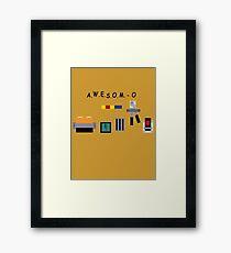 AWESOM-O 4000 Framed Print