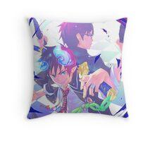 Blue Exorcist Anime Throw Pillow