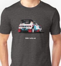 PEUGEOT 205 TURBO 16 RALLY CAR Unisex T-Shirt