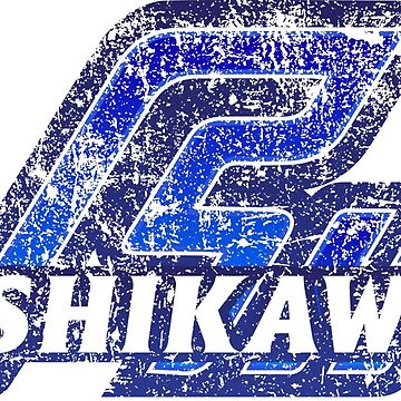 Ishikawa Prefecture Japanese Symbol Distressed by PsychicCatStore