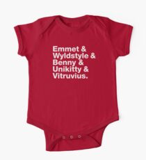 Brick Names Kids Clothes