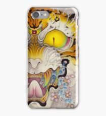 TIGER FACE Cloud and Wave, SAKURA iPhone Case/Skin