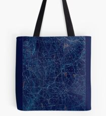 USGS TOPO Map Connecticut CT Gilead 331027 1892 62500 Inverted Tote Bag