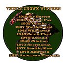 Horse Racing Triple Crown Winners by Ginny Luttrell